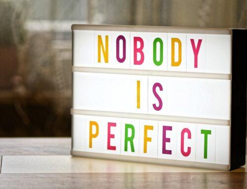 Il potere di ammettere le proprie imperfezioni e perdonarsi